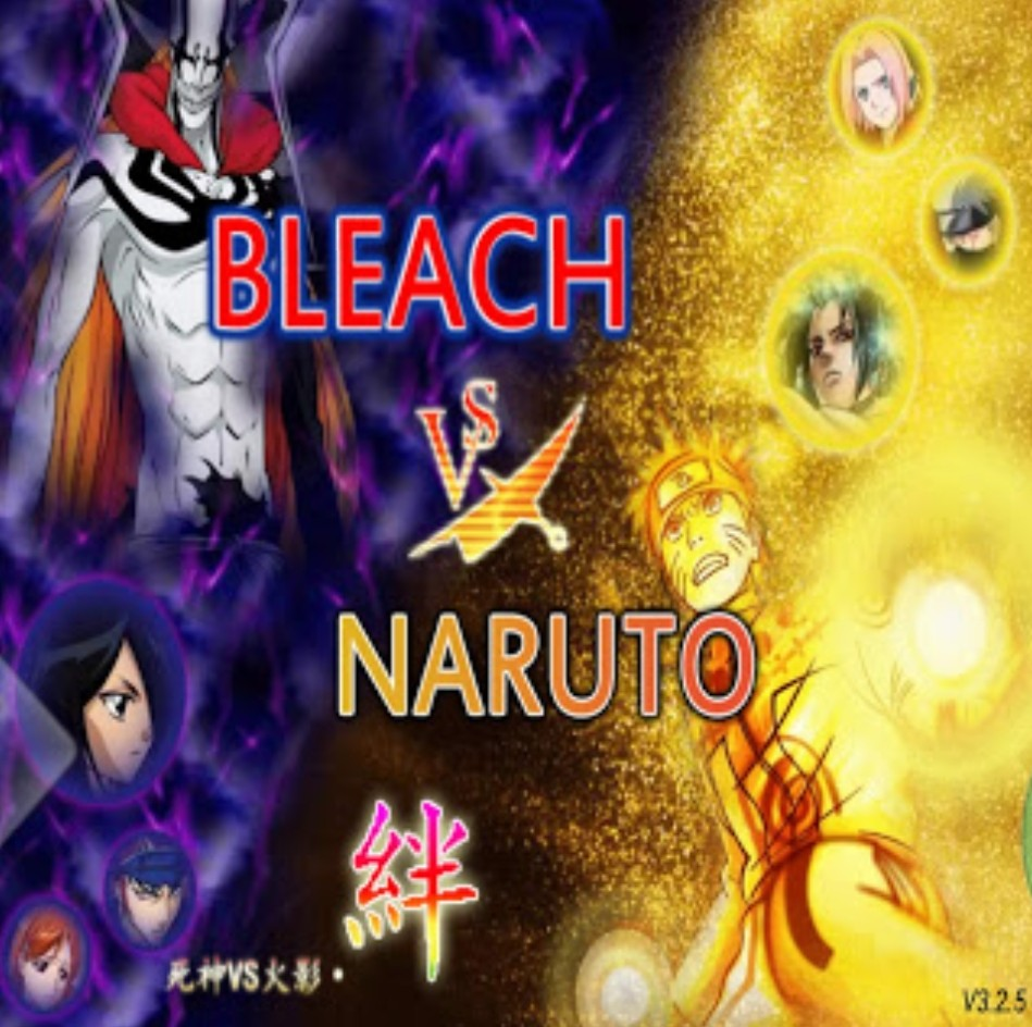 All Characters in Bleach Vs Naruto