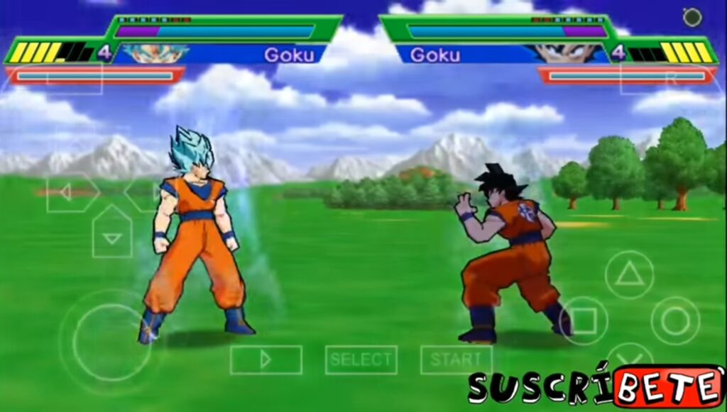 All forms & Characters in DBZSB5