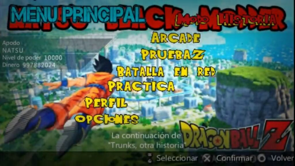 About DBZ Kakarot PPSSPP Android Download 2020