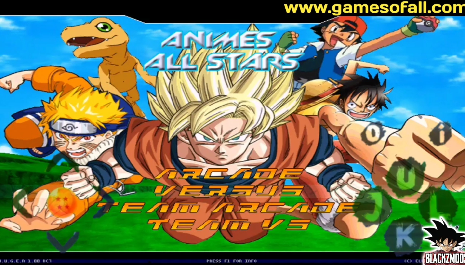 Dragon Ball Z Anime All Star Mugen APK Download