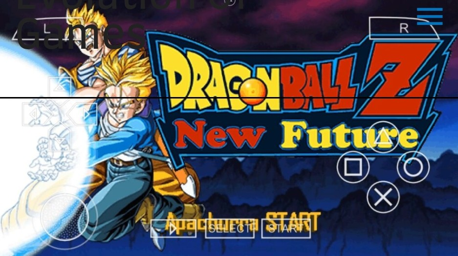 Dragon Ball Z Shin Budokai 2 New Future PPSSPP Download