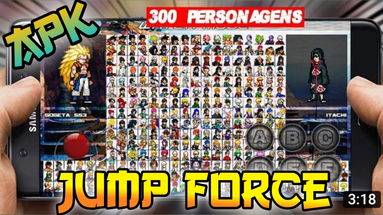 Jump Force Anime Mugen Apk Game for Android Download