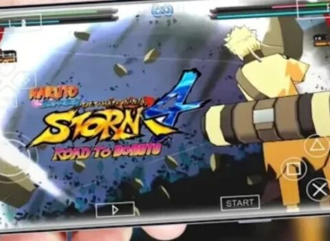 Naruto Ultimate Ninja Storm 4 PPSSPP Download for Android