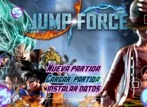 Jump Force ISO PSP DBZ TTT Mod Download