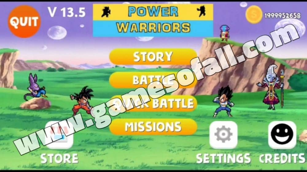 Power Warriors 13.5 APK Download for Android